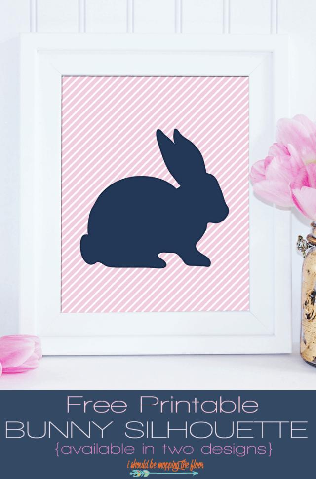 free printable bunny