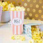 Customizable Popcorn Bags