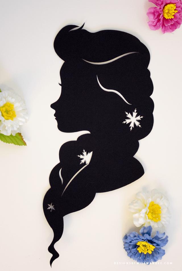 Disney Princess Silhouettes