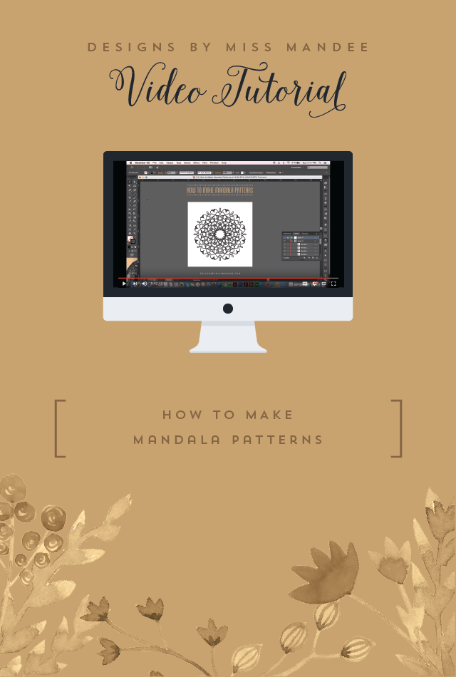 How to Make Mandala Patterns