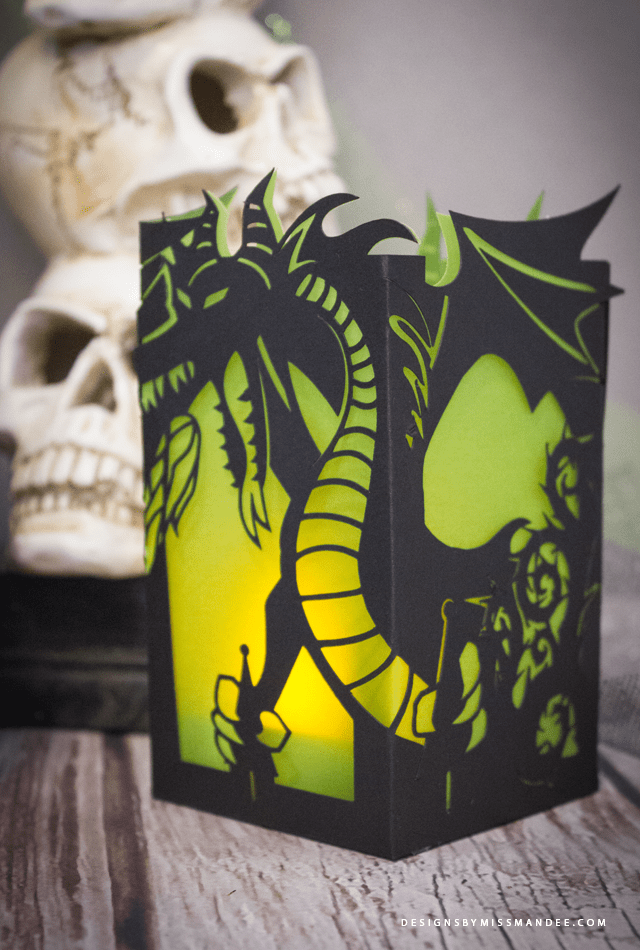 Maleficent Paper Lantern