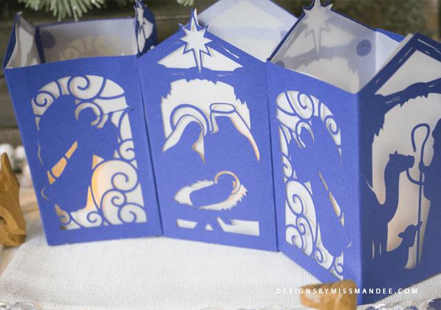 Nativity Paper Lantern