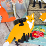 Die Cut Foxes
