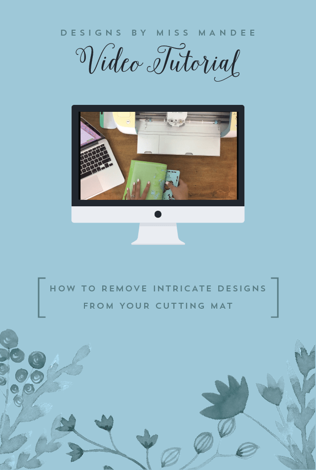 How to Remove Intricate Designs From Your Cutting Mat