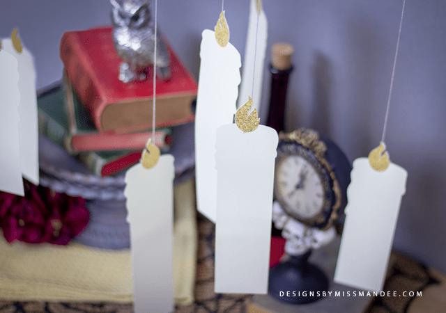 Die Cut Floating Candles