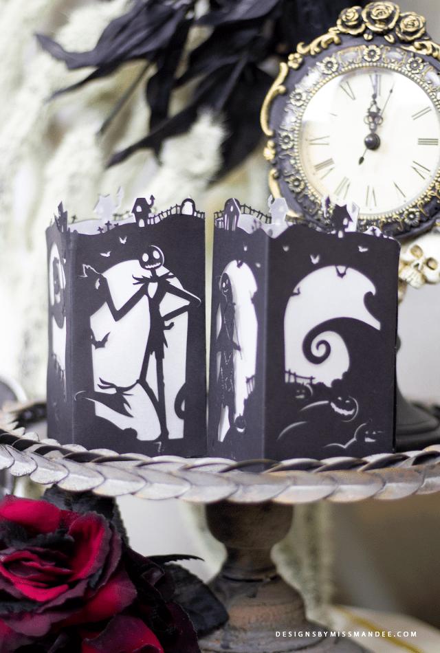 Nightmare Before Christmas Paper Lantern