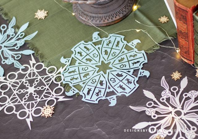 Harry Potter Snowflakes