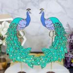 Die Cut Peacock