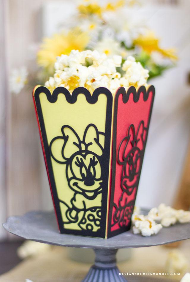 Disney Popcorn Boxes