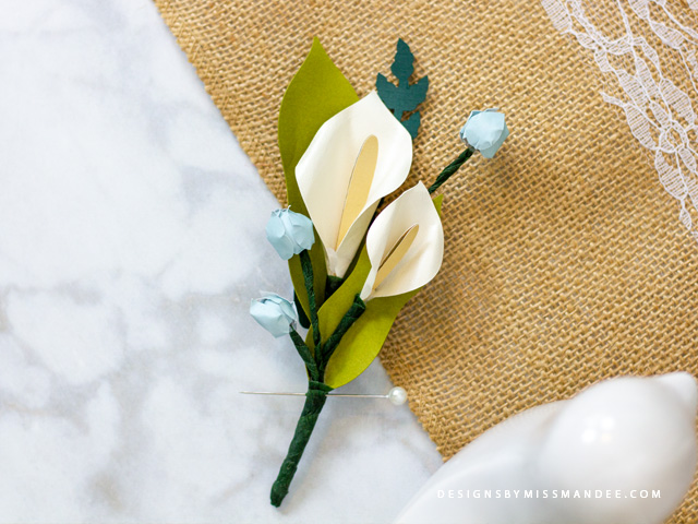 Father's Day Boutonniere