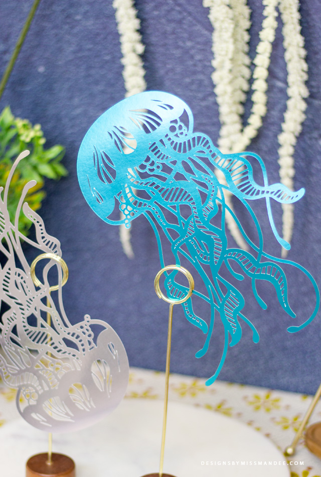Die Cut Jellyfish