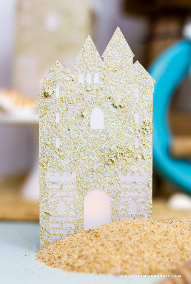 Sandcastle Paper Lantern
