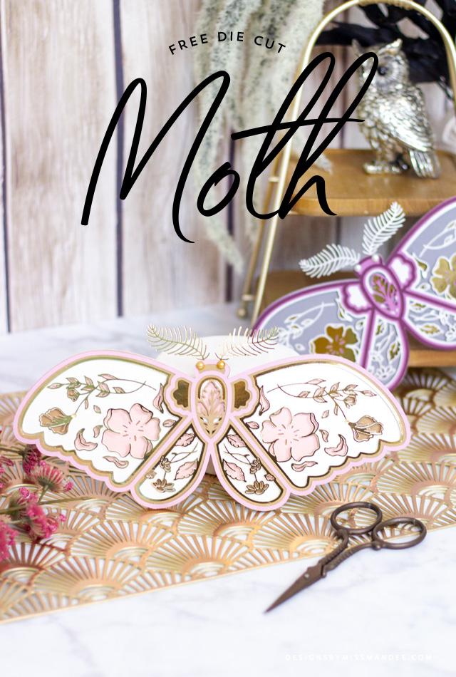 Intricately Layered Moth