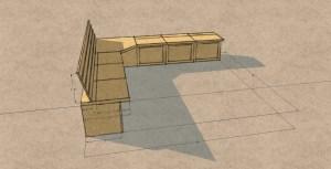 Kitchen Storage Bench Seat