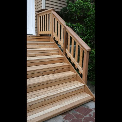 Deck Repair Contractor  Handyman Seattle Shoreline Pinehurst Northgate Ballard Greenwood Entry  Stair During 08