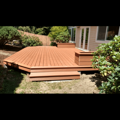 Deck Addition - Design Scales - using Cypress Azek composite