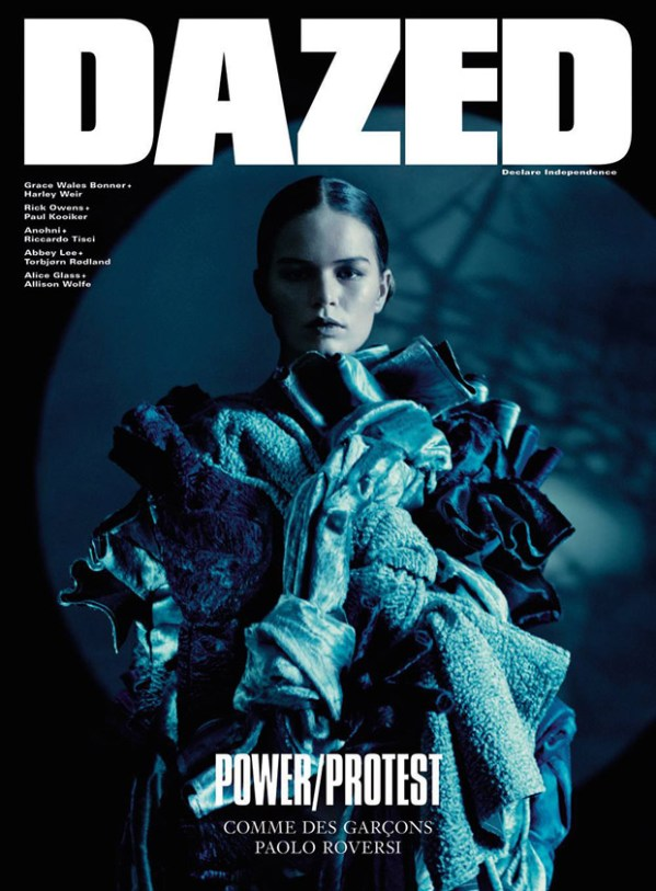 Anna Ewers for Dazed Magazine by Paolo Roversi