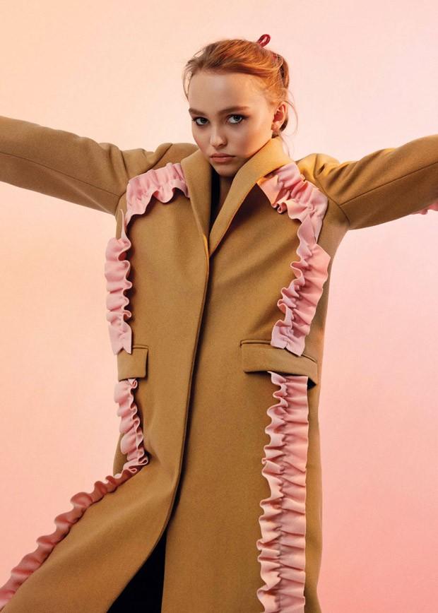 Lily Rose Depp For V Magazine By Charlie Engman