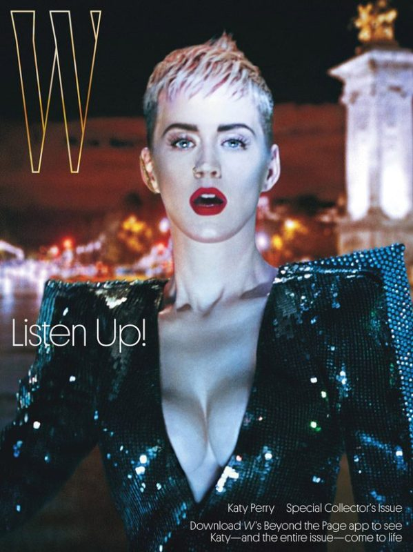 Katy Perry Stars in the Cover Story of W Magazine ...