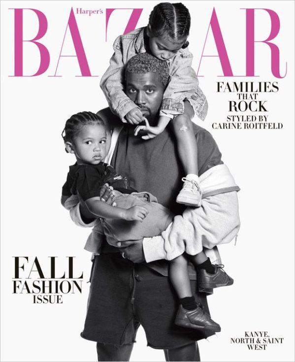 Harper's Bazaar September 2018: Kanye West, Christina ...