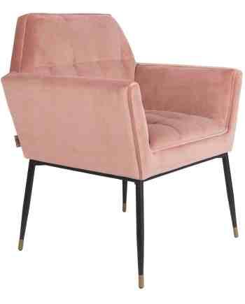 Kate fauteuil Dutchbone roze 1