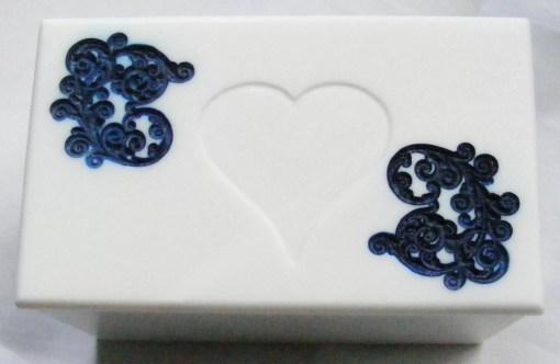 engraved box lid