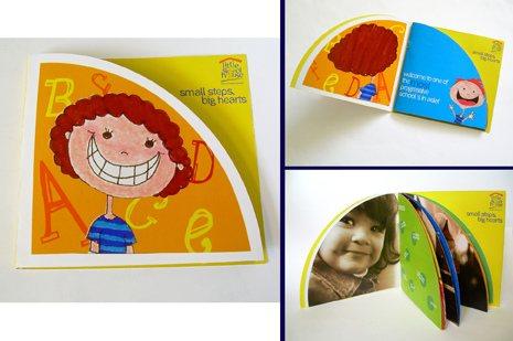 little skool 50 Amazing Brochure Layout Ideas