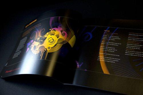 pioneer 50 Amazing Brochure Layout Ideas