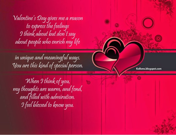 New Poems For Valentine Day 2015