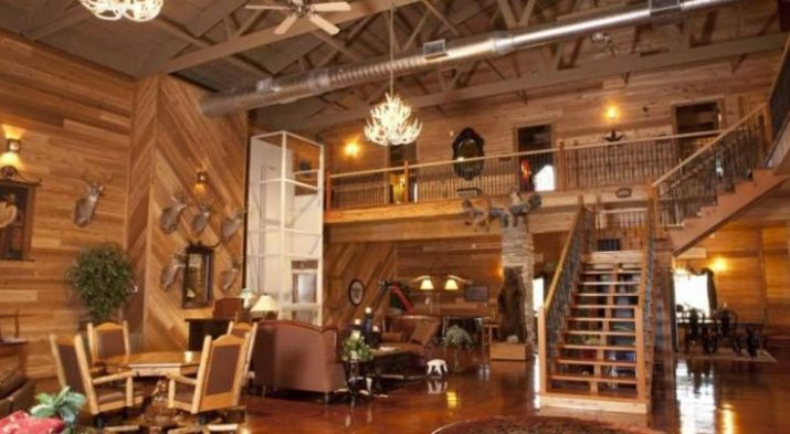 Hunting Cabin Interior Do It Yourself Hunting Cabins: Top 20 Awesome Barndominium Design Ideas