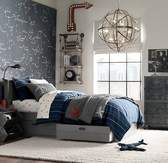 Gray-Boys-Room-Ideas