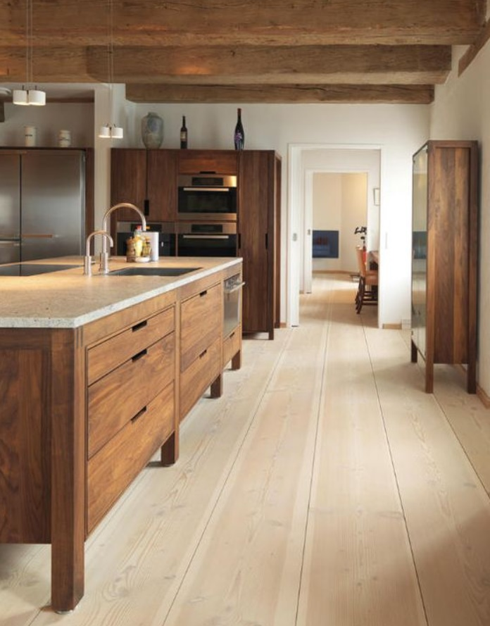 Simple Cottage Wooden Cabinets