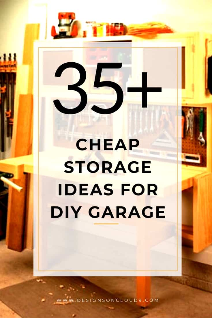 Cheap Storage Ideas for DIY Garage