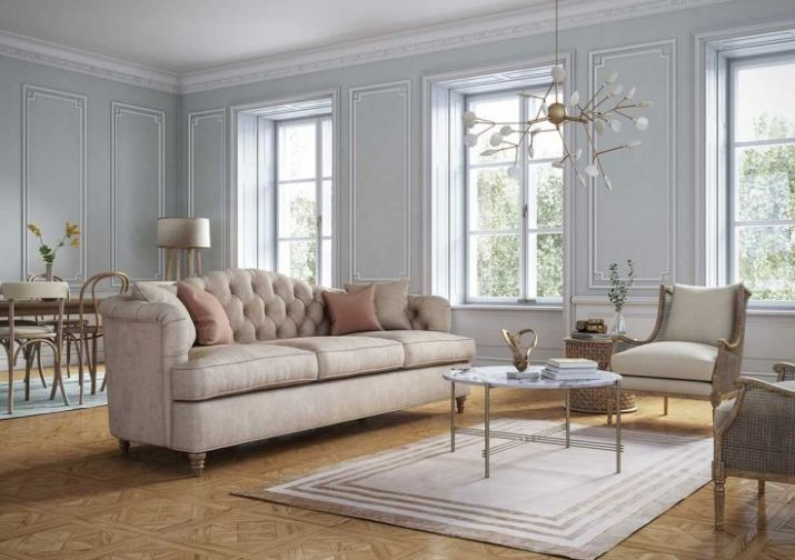 Classic-style-living-room-interior
