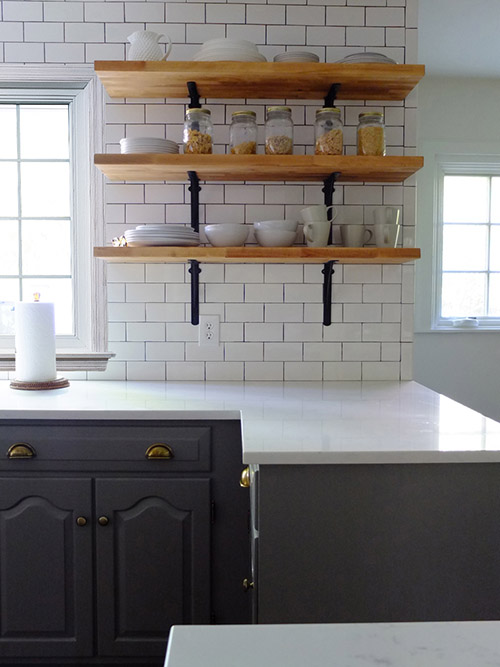 Before Amp After A New Jersey Kitchen Gets A Touch Of