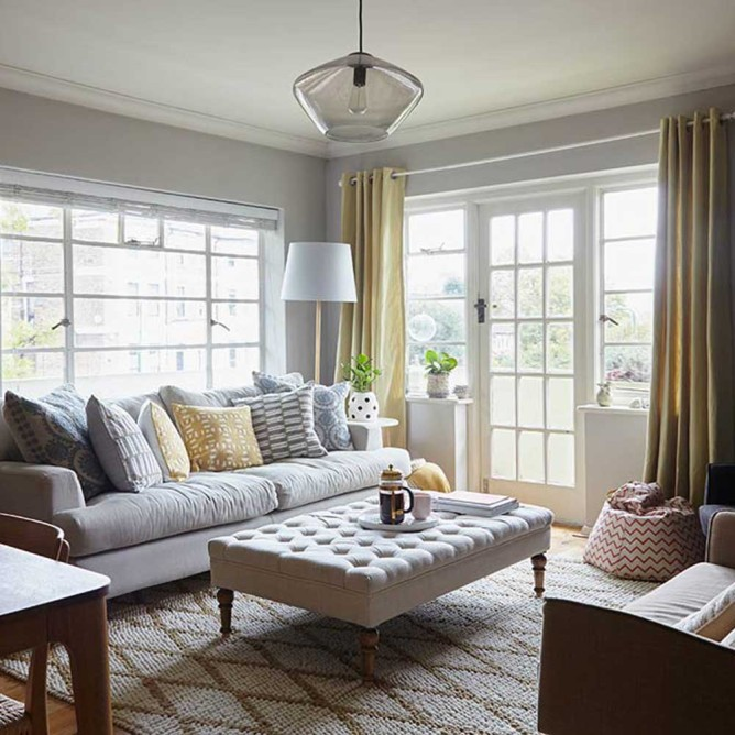 An East London Art Deco Flat for Family