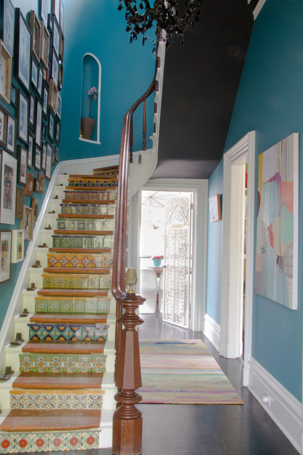 12 Unique Staircases that Make a Statement - Design*Sponge on Creative Staircase Wall Decorating Ideas  id=24461