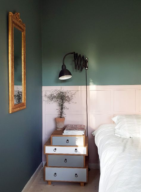 10 Amazing Two Tone Walls When One Color Just Wont Do