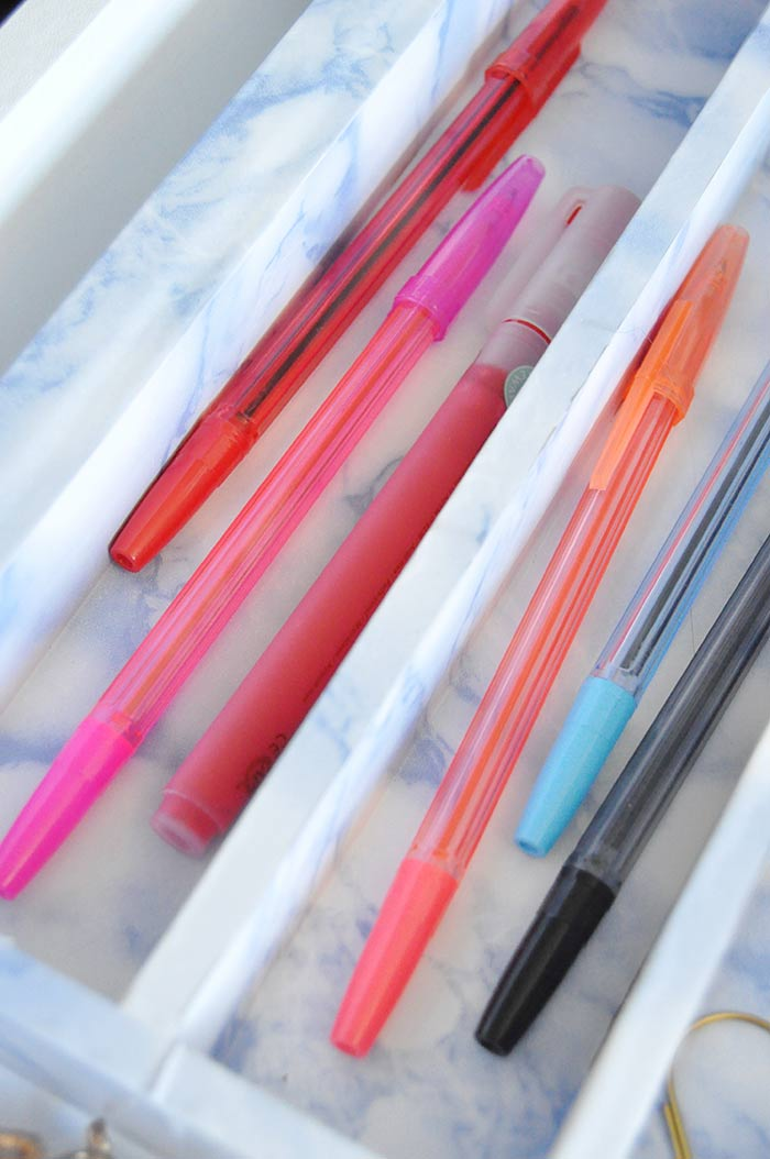 DIY Drawer Organizer on Design*Sponge