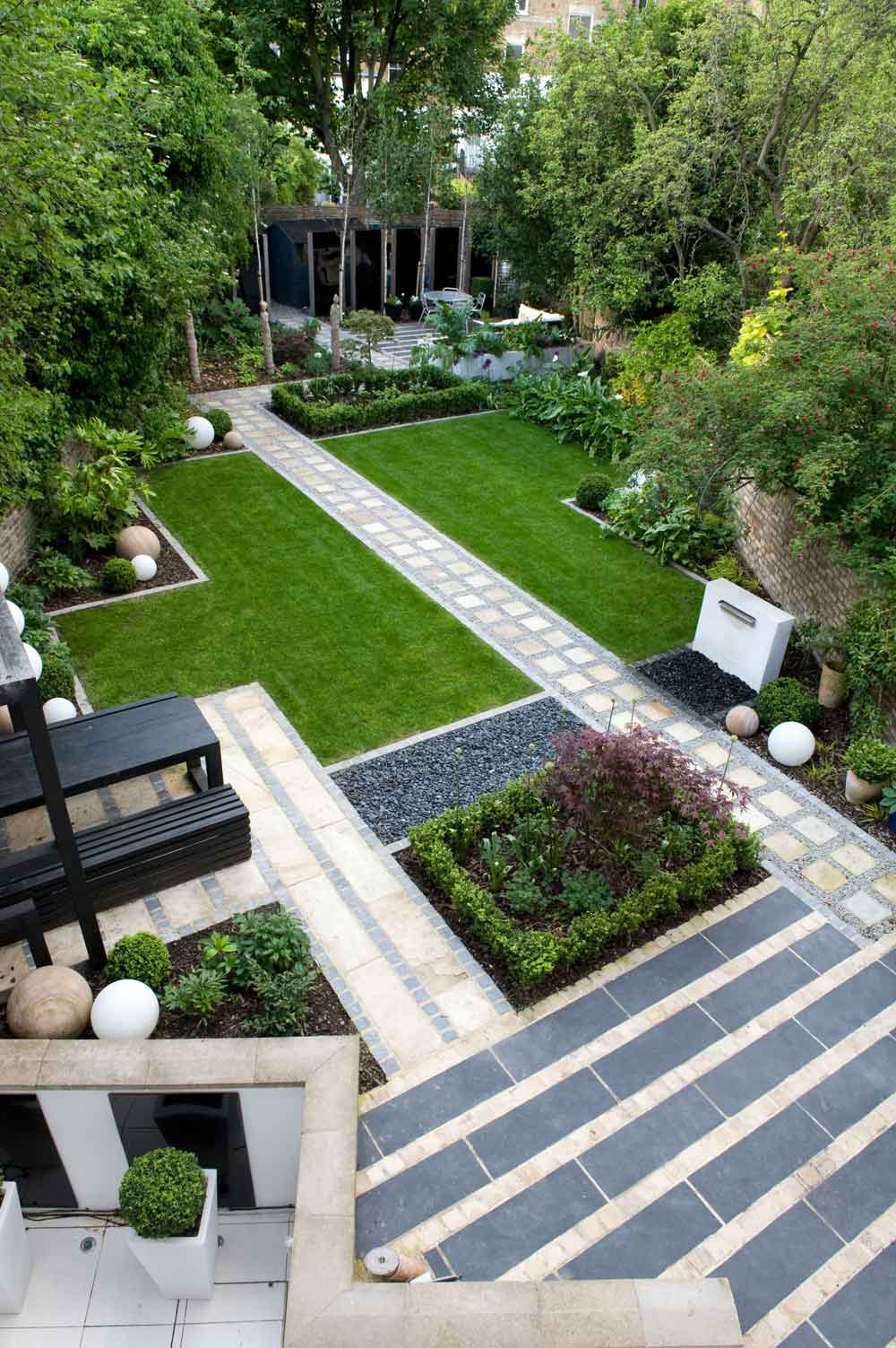 Before & After: A Modern Japanese Garden in North London ... on Backyard Patio Layout id=35884