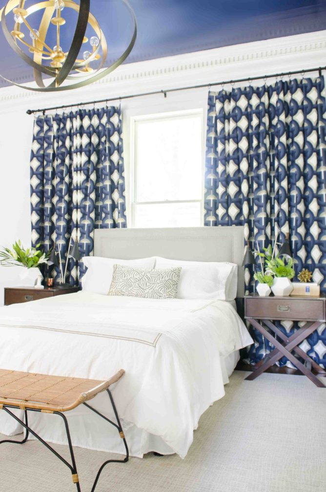 Before & After: Going Glam in a Bachelor Pad Bedroom
