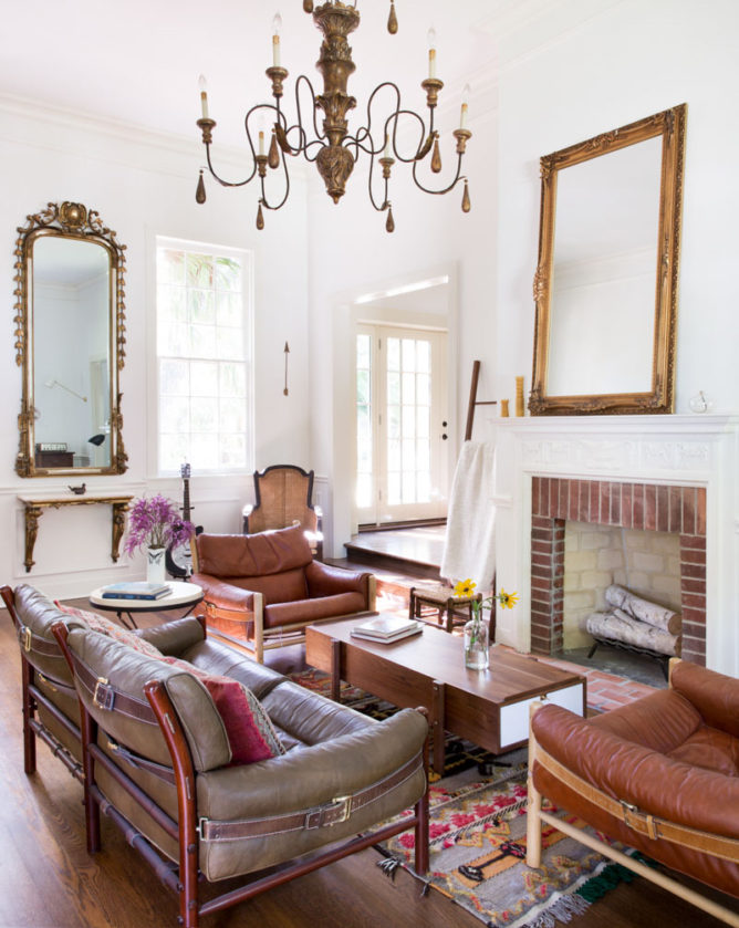 A Family Home in Texas Layered with History and Vintage Finds