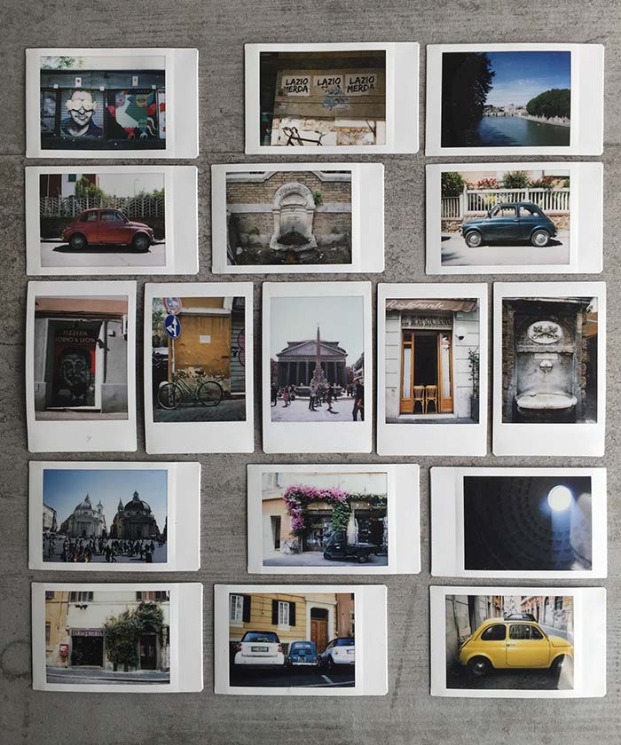 Polaroids to build a vision | DesignSponge