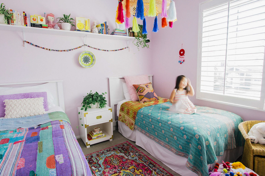 Effortless Boho Style Transforms a 90s Cookie-Cutter Home ... on 90 Room  id=14623
