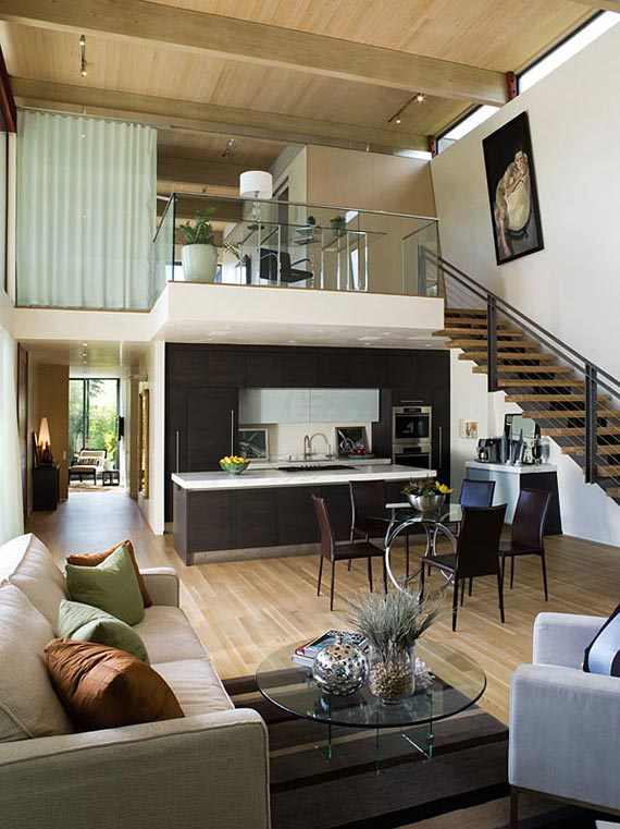 Modern House with L Shaped Architecture Design in ... on Interior Modern House  id=91954