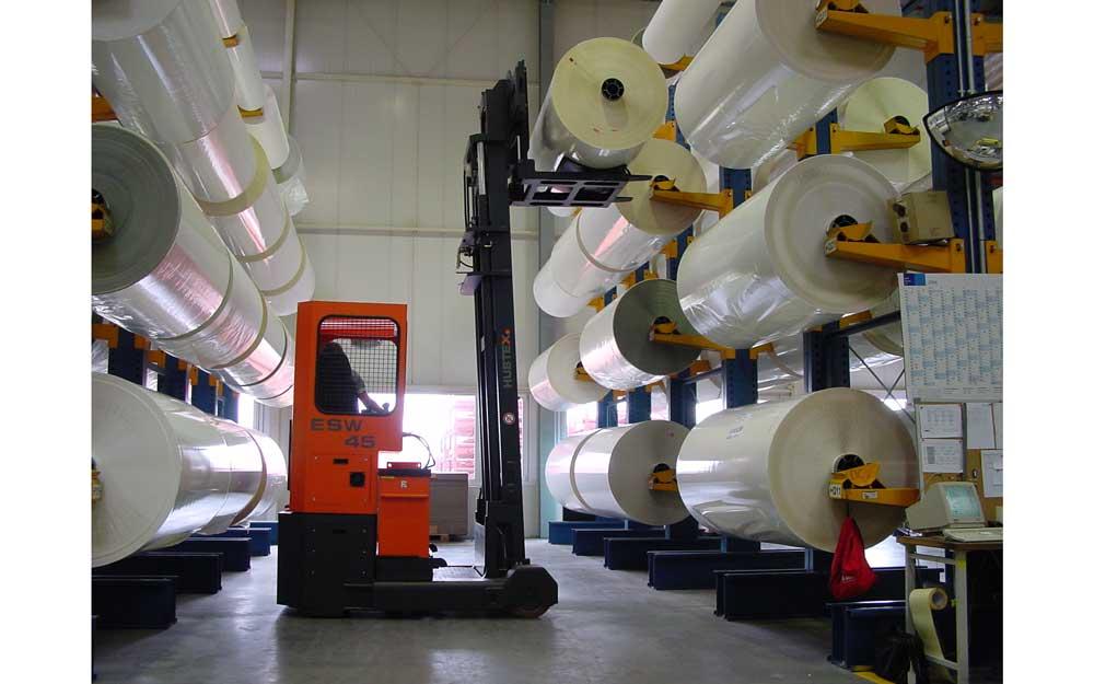 Sideloaders For Roll Handling Design Storage Amp Handling