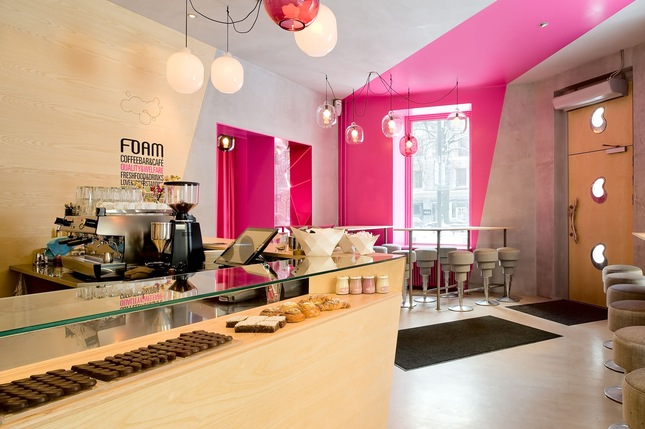 Cafe Foam by Note Design Studio