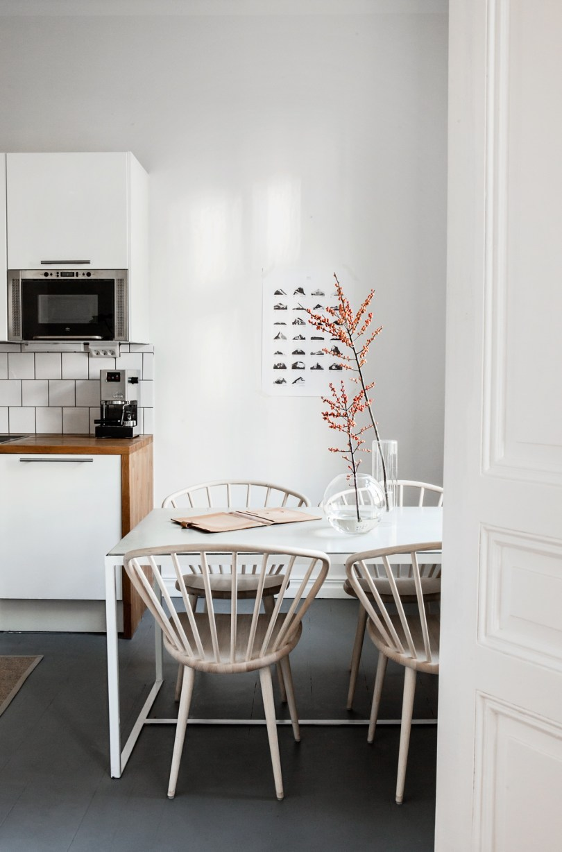 Swedish Apartment Interior Design from Fantastic Frank Via Design Studio 210