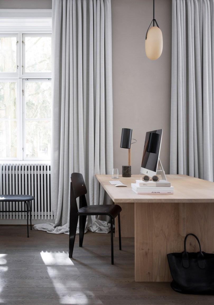 Kinfolk office design - desk by Norms Architects via Design Studio 210