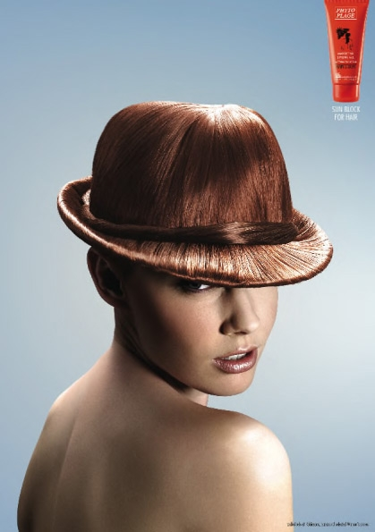 Creative Hair Related Poster Design Design Swan